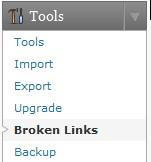 Broken links plugin