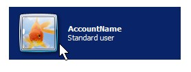 Click on Account name