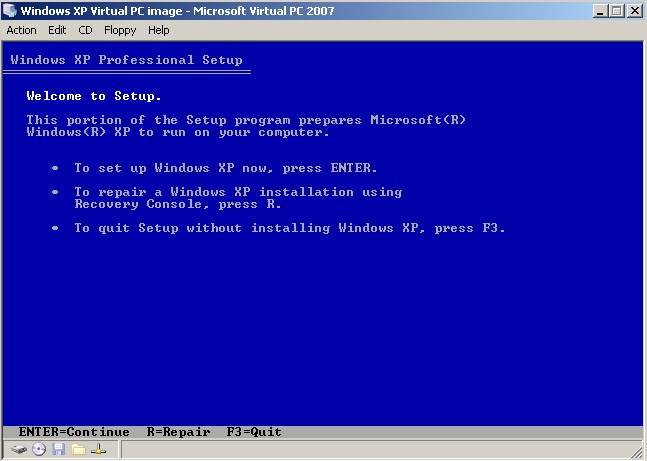Install XP