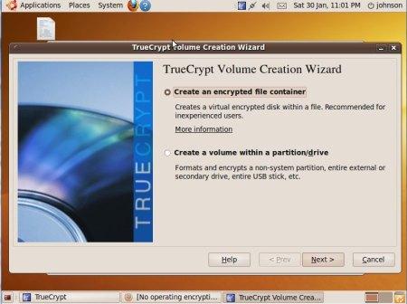 truecrypt ubunbtu 9