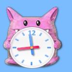 Pikachu like Clock Gadget for Windows 7