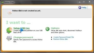 Setup USB link
