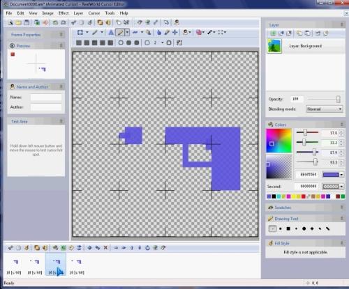 animated cursor editor