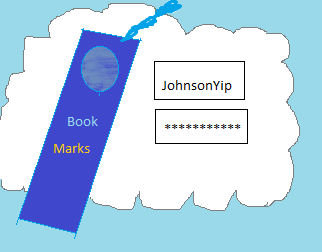 Store bookmarks usernames password online