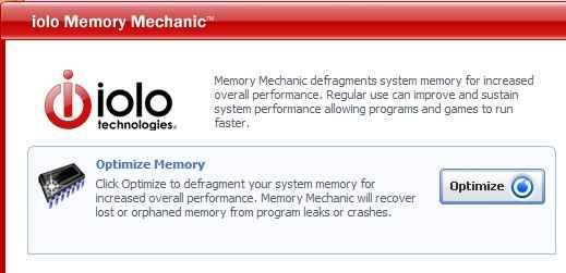 Iolo memory mechanic