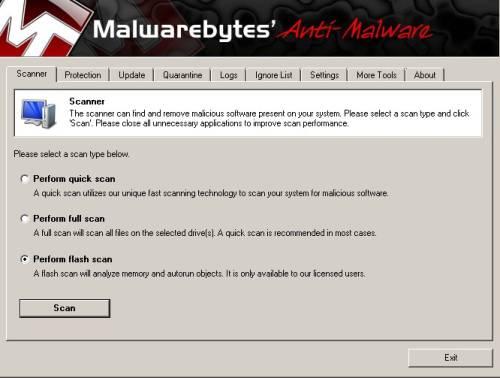 Is the malwarebytes anti malware reviews phone popup screen